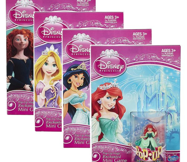 Disney Pop-up Mini Board Games