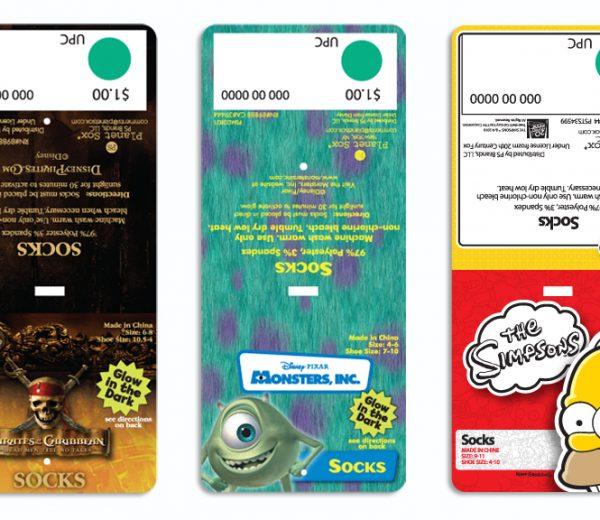 Assorted Licensed Packaging