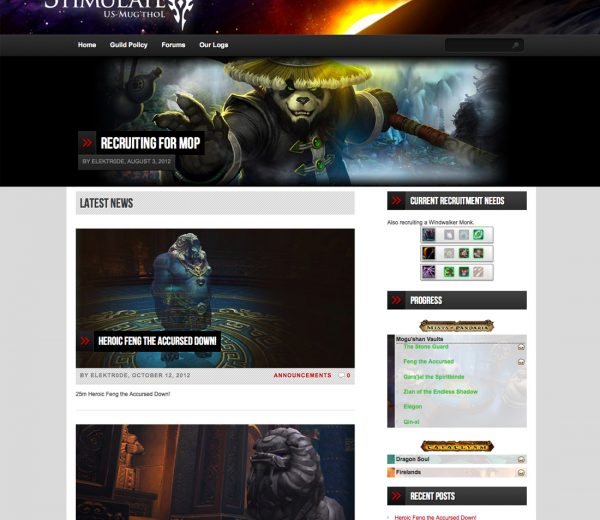 Gaming Website & Forum