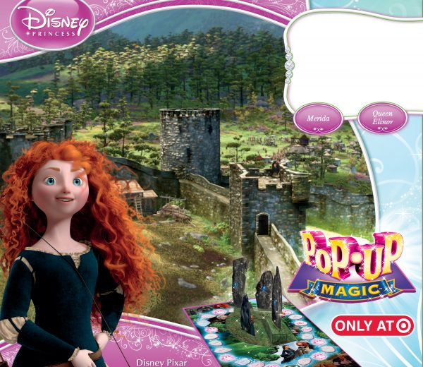 Disney Pop-Up Magic Brave Board Game