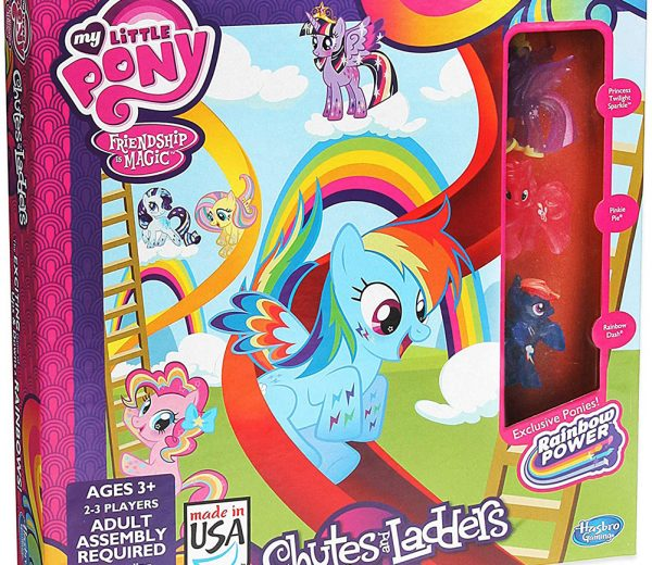 My Little Pony Chutes & Ladders Board Game
