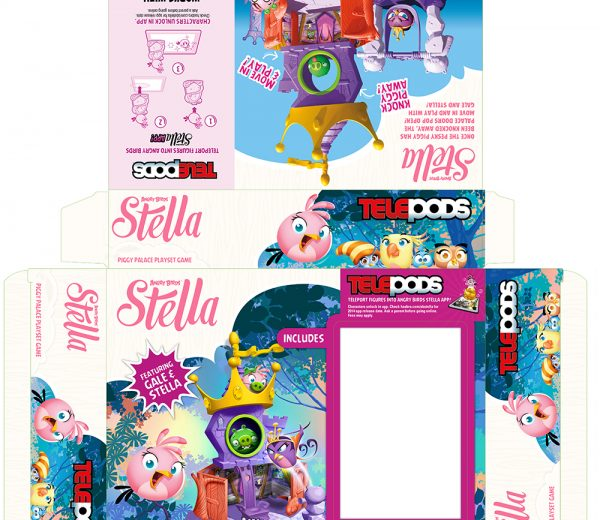Angry Birds – Stella Piggy Palace Playset